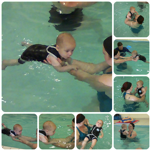 Water Babies, baby swimming lessons, week 3, www.emmysmummy.com