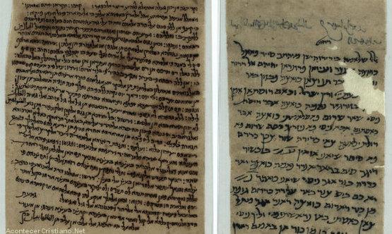 Manuscritos bíblicos de más de mil años de antigüedad