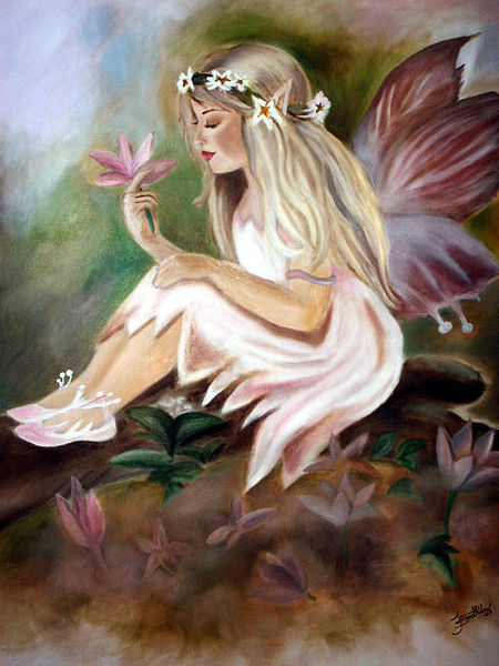 Every day is special june 2012 for Fairy painting easy