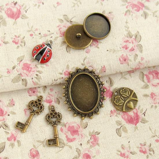 шармики, основы для брошек