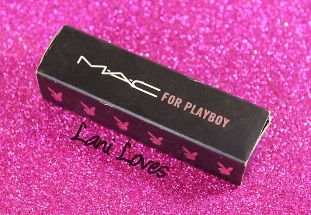 MAC Monday: MAC X Playboy - Bunny Pink Lipstick Swatches & Review