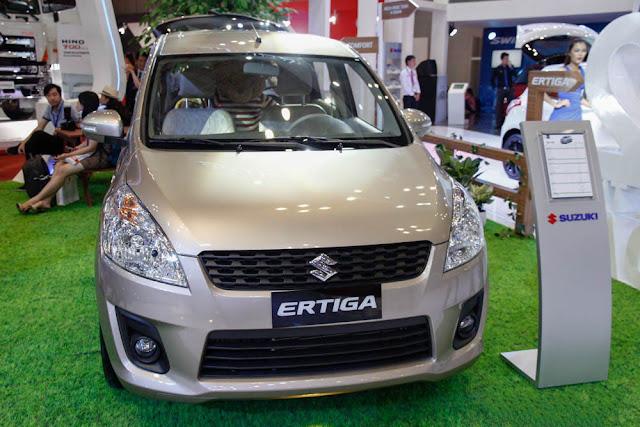 Suzuki Ertiga 2015 và các dòng xe gia đình 7 chỗ