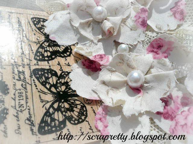 scrapretty fleurs en tissus a gagner. Black Bedroom Furniture Sets. Home Design Ideas