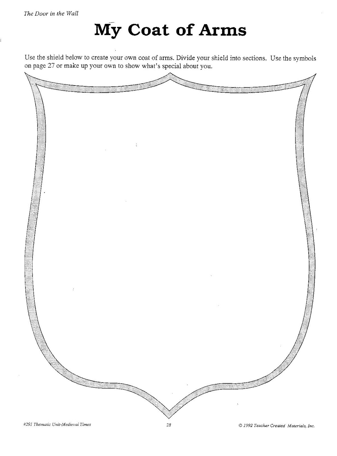 make your own coat of arms template - coat of arms template printable pictures to pin on