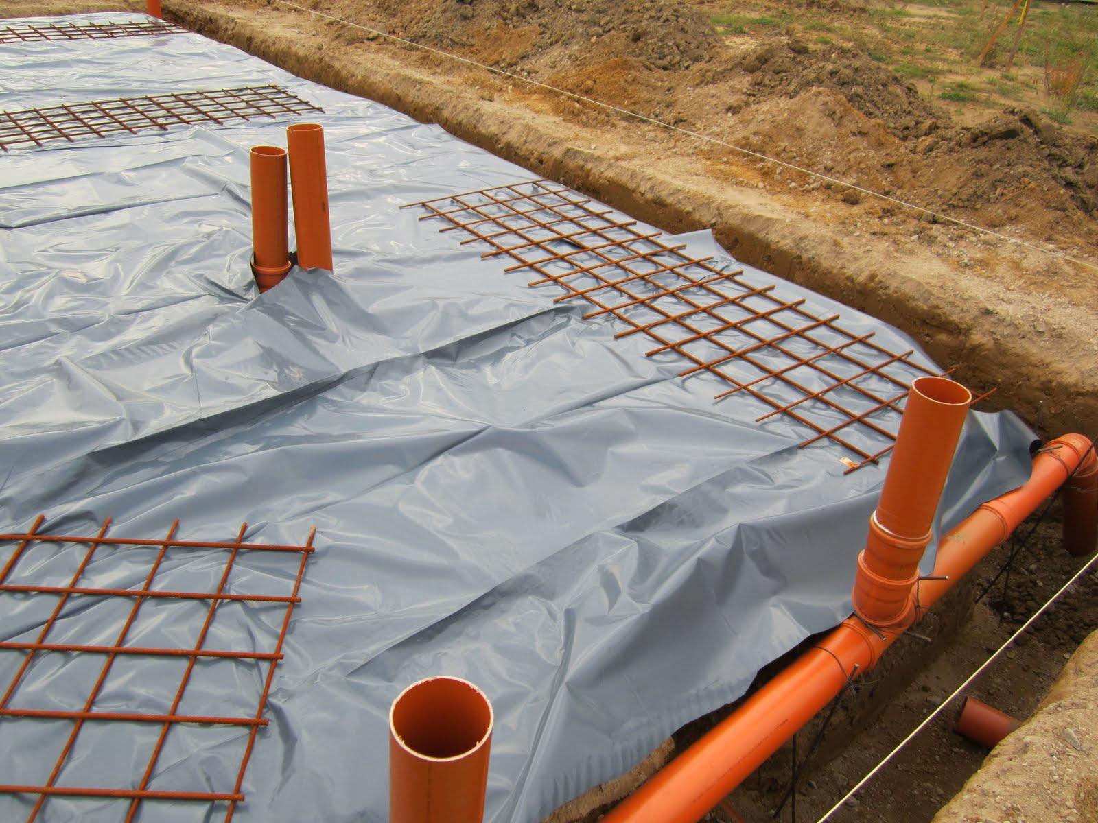 unser hausbau: vorbereitung fundament und verlegen der rohre