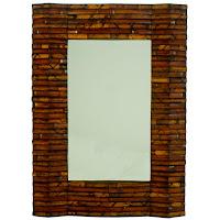 Bamboo Mirror Frame