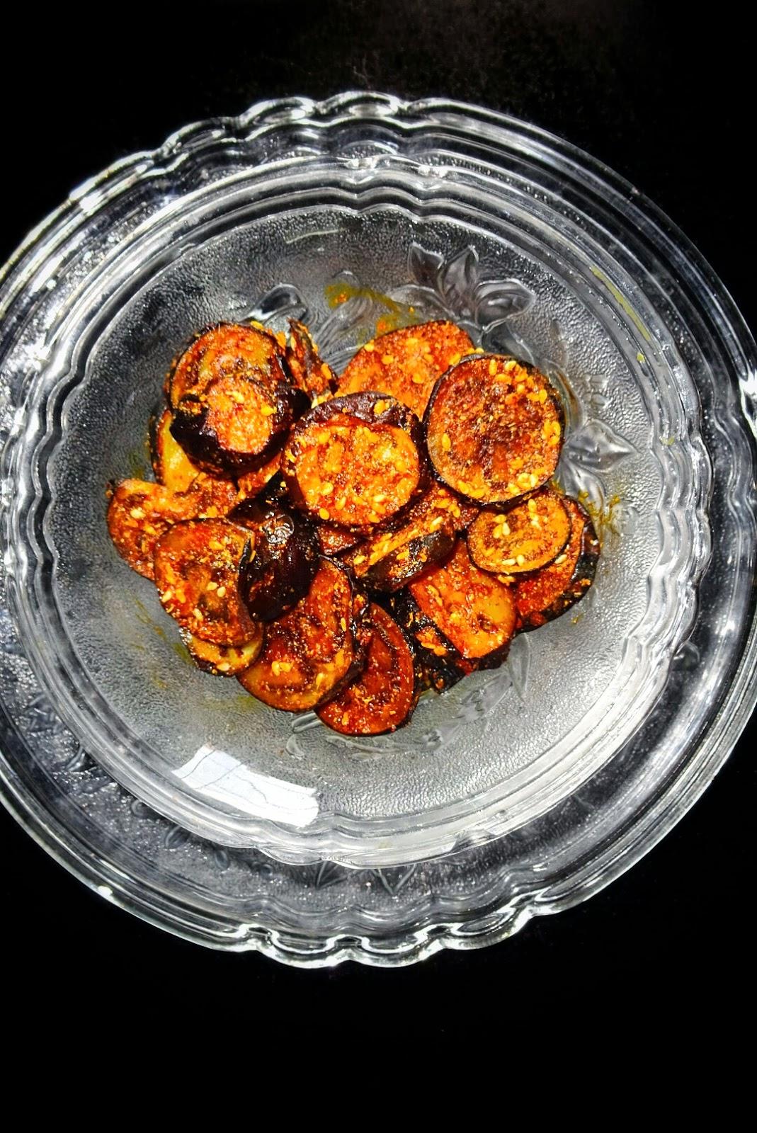 Veg indian good food recipes baingan fry masala recipe forumfinder Image collections