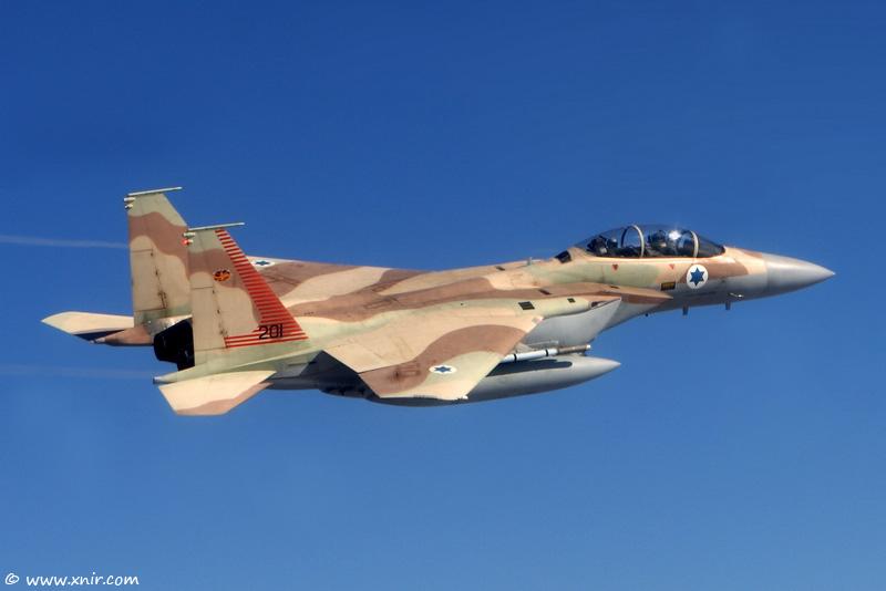 F-15I Raam Israeli Strike Eagle