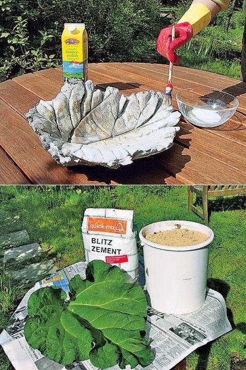 Tips e ideas para un jardin siempre verde - Como hacer cemento ...