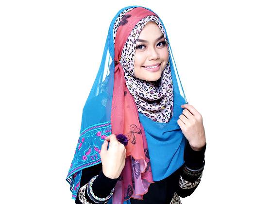 Hud Harimau Akar Oleh Syahida Saidun tutorial hijabista