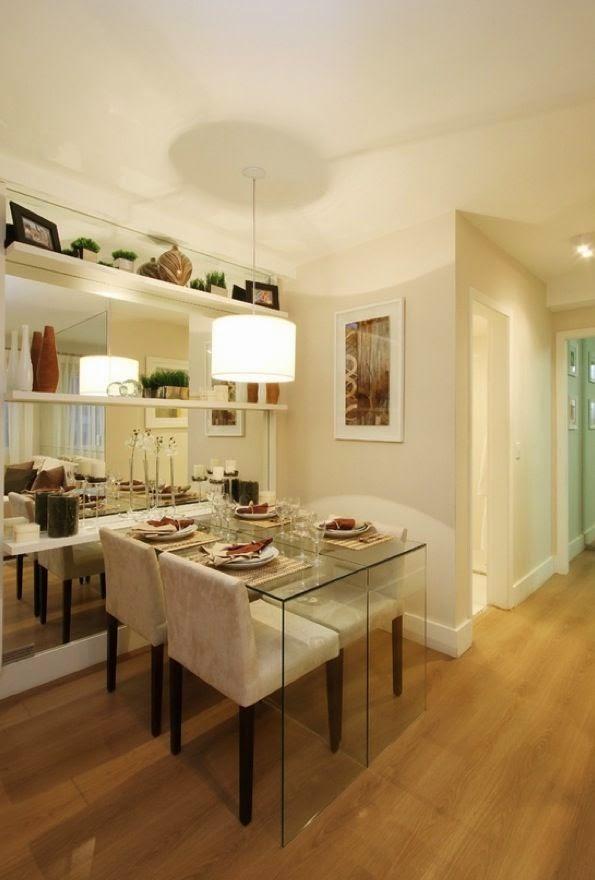 20 salas de jantar pequenas jeito de casa blog de