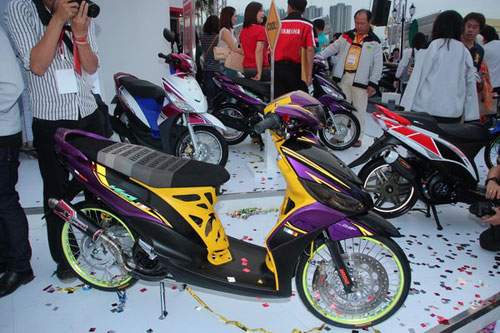 ide modifikasi mio velg 17 racing