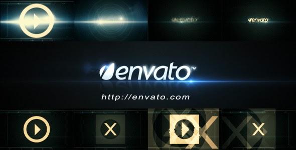 VideoHive Futuristic Logo Opener