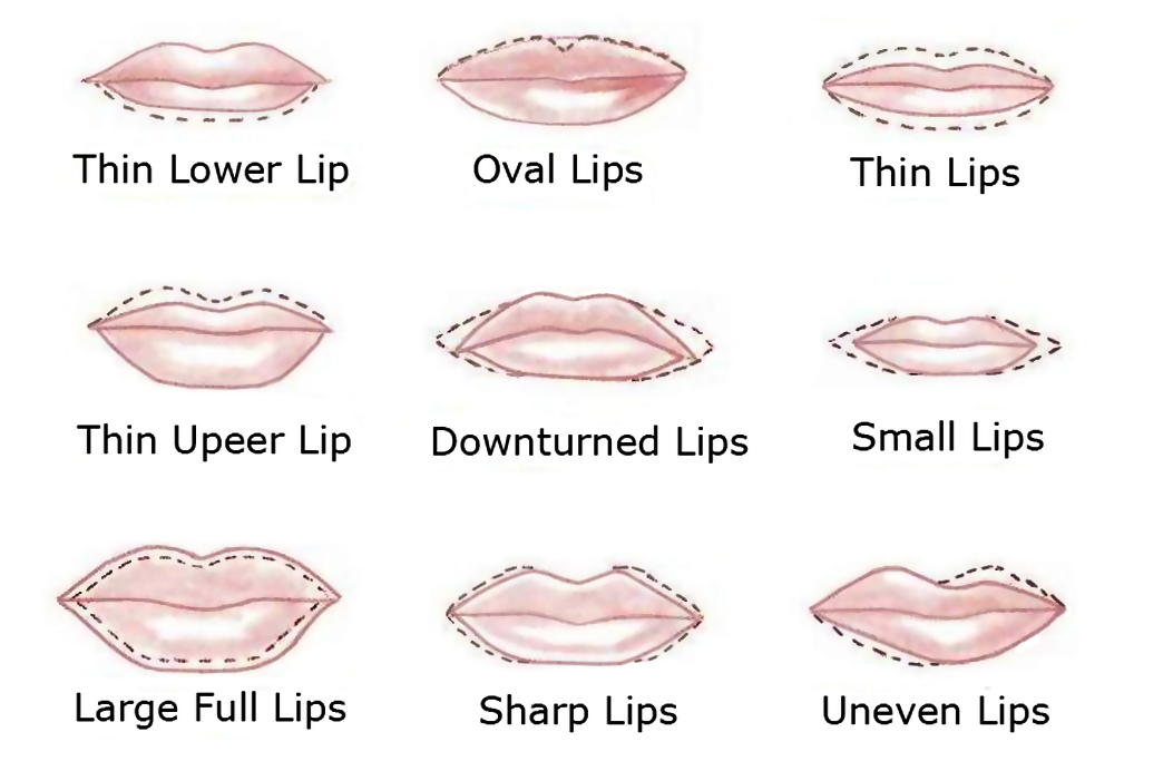 Gemily Barbon Beauty & Makeup: Perfect Lips: how to draw ...