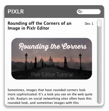 Pixlr Tutorials