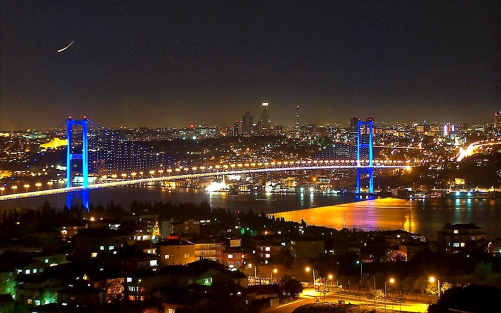 Download Istanbul City Night Wallpapers