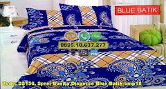 Harga Sprei Bonita Disperse Blue Batik-bmp18 Jual