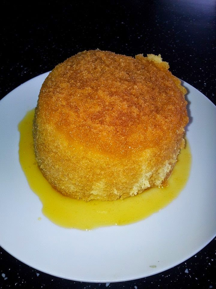 Weekend make - Syrup pudding