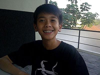 Foto gambar terbaru update Iqbal Coboy Junior.