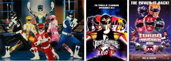 Los Power Rangers dieron el salto al largometraje