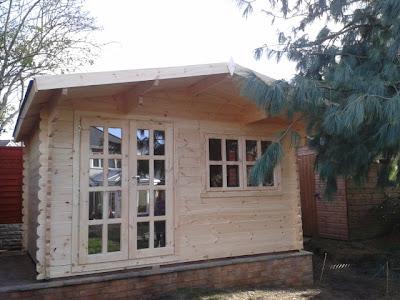 Birmingham log cabins