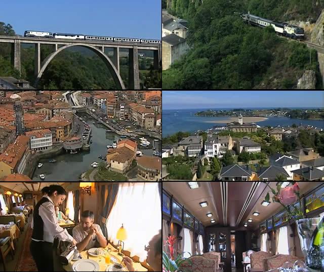 El TranscantábricoGRAN LUJO - Trem de Luxo - Espanha - Luxury Train - Spain