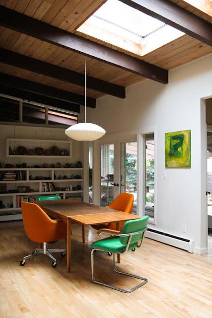 Wohnen im Mid Century Design