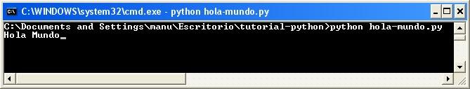 Instalación de Python