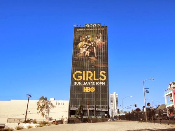 Giant Girls season 3 billboard