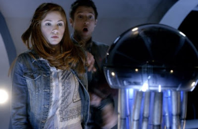 Dr Who, Let's Kill Hitler, Amy and Rory vs the anti-bodies