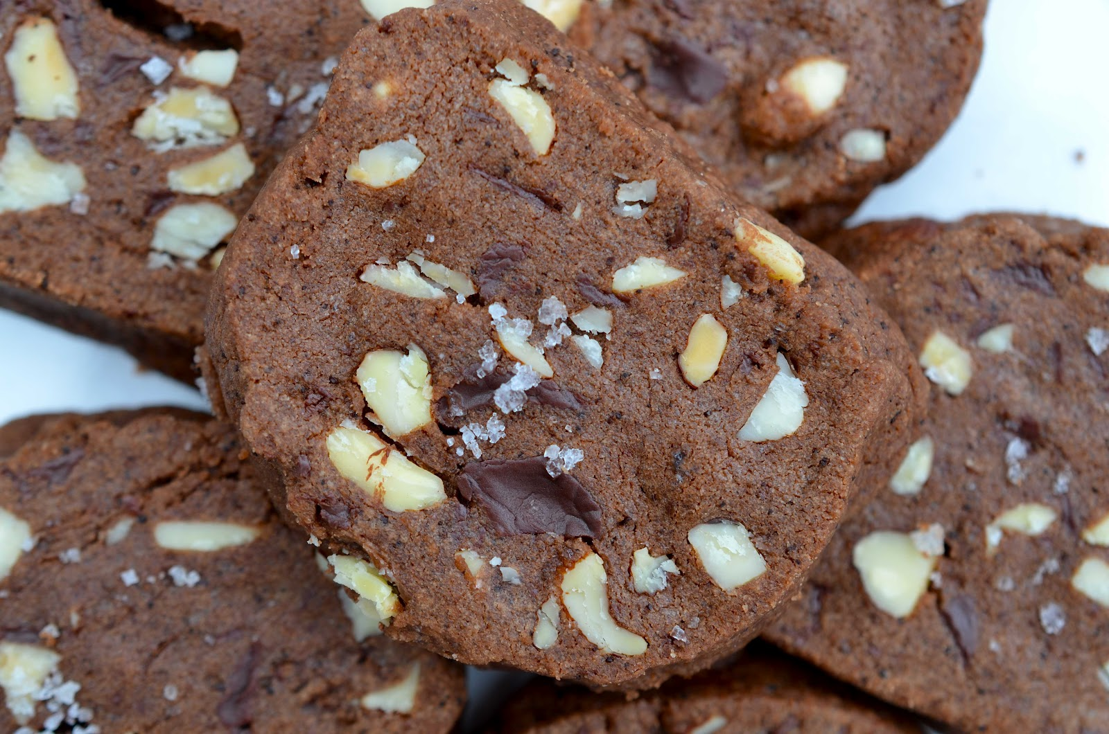 Chocolate Almond Shortbread Recipe — Dishmaps