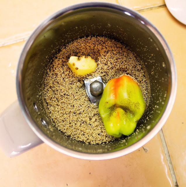 simple jhinge posto recipe