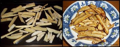 Parsnips Fries