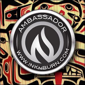 INKnBURN Brand Ambassador - 2015, 2016, 2017