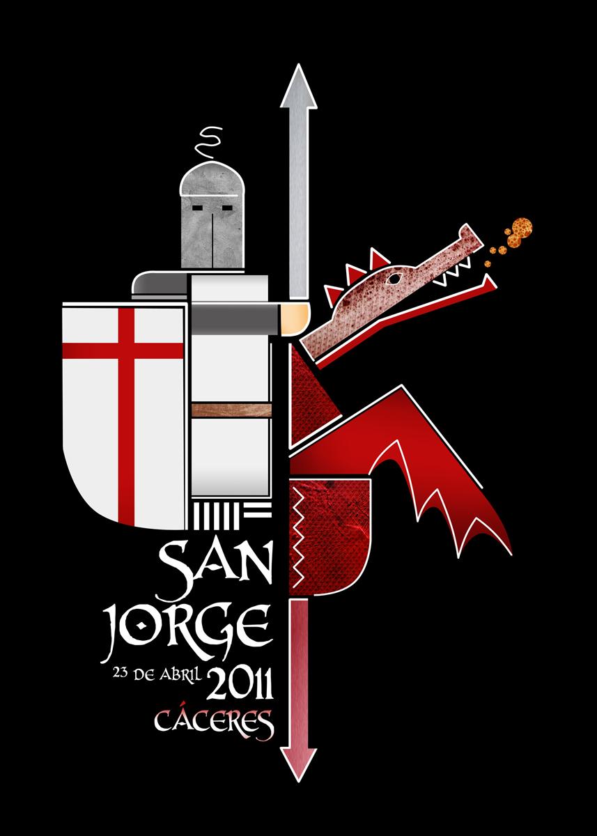 San Jorge 2011 en Cáceres programación de los eventos