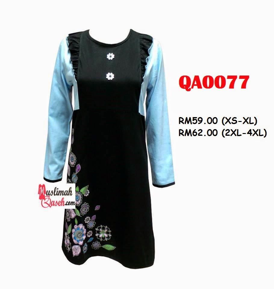 T-Shirt-Muslimah-Qaseh-QA0077