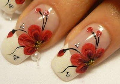 beauty best nail art beautiful flower designs nail arts