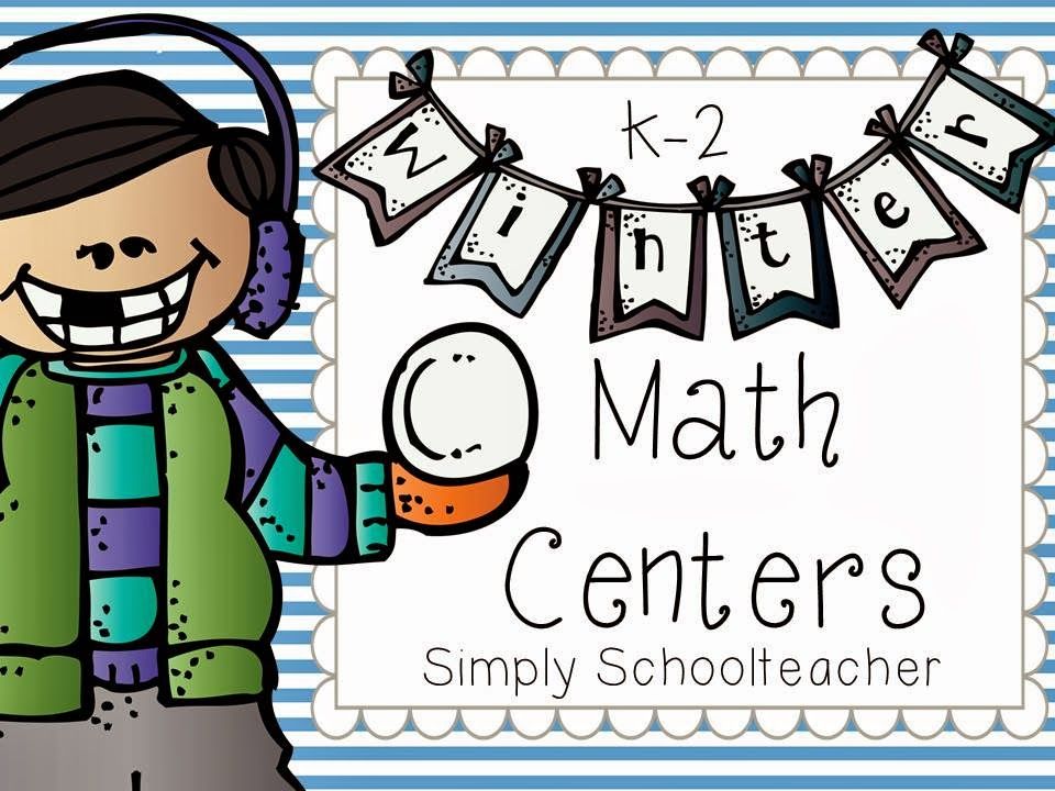 http://www.teacherspayteachers.com/Product/Winter-Math-Centers-K-2-differentiated-1046854