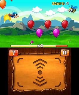 Bird Mania 3D Gameplay, Collecting Ballons