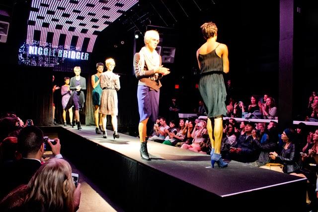 Eco Fashion Week Nicole Bridger you're not alone, Fashion Show, eco fashion, runway show