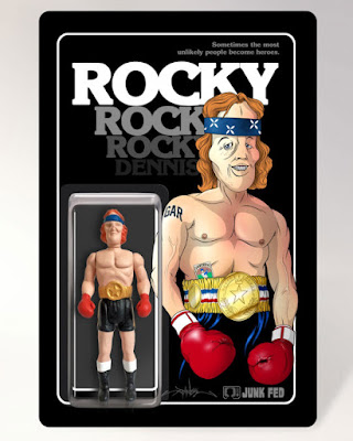 New York Comic Con 2015 Exclusive Rocky Dennis: True Champion of Life Resin Figure by Junk Fed x Alex Pardee
