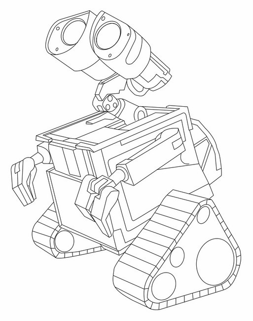 HD wallpapers coloring pages wall e