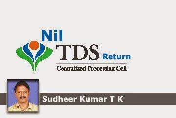 Procedure for NIL TDS Return in TRACES