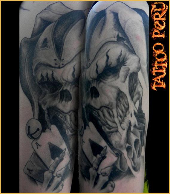 Tatuajes: Consejos antes de hacerse un Tatuaje Craneo_del_joker