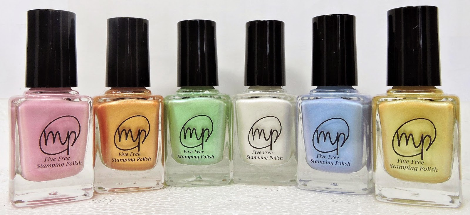 M Polish: A Five Free Indie Stamping Polish! - Polish Galore