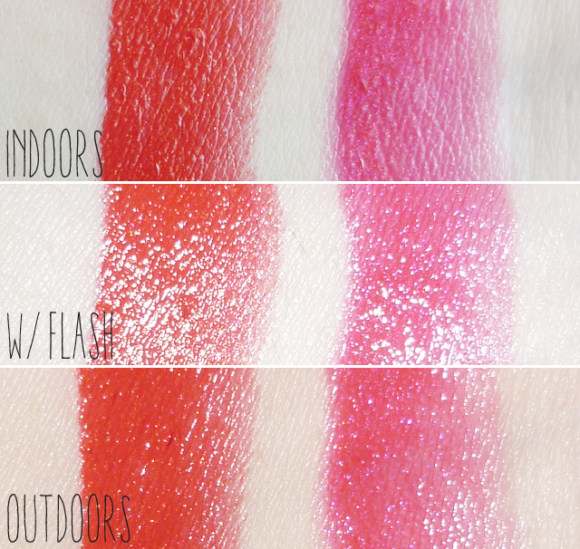 Etude House Winter Princess Etoinette Crystal Shine Lips Swatches and Review