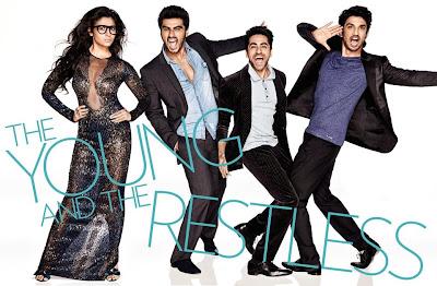 Ayushmann, Parineeti, Sushant Singh, Alia Bhatt and Arjun Kapoor cover Vogue India's November 2013 issue