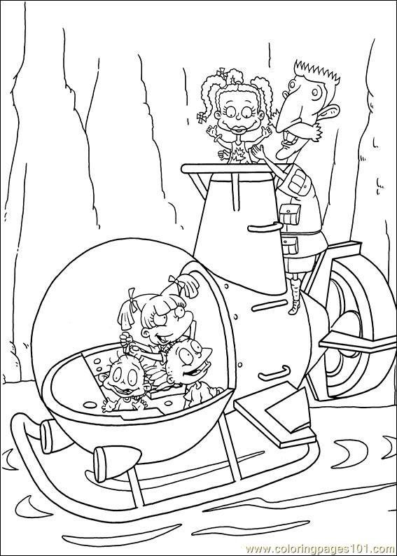 Free Printable Rugrats Coloring