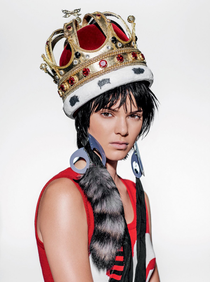 Kendall Jenner in Vogue Brazil