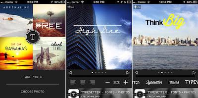 Menambahkan Teks Pada Foto Dengan Aplikasi Typesetter